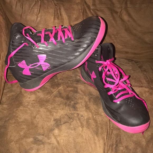 e626fe86 Women's Under Armour High Top Basketball Shoes